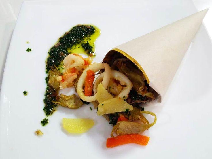 Foto del cartoccio di frittini veneziani