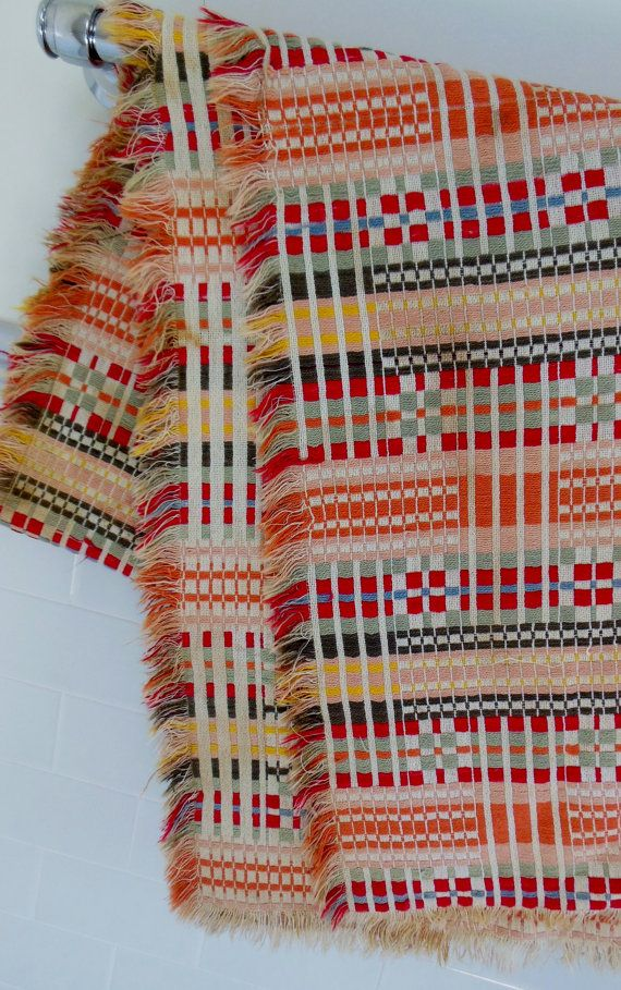 Swedish Woven Textile Throw