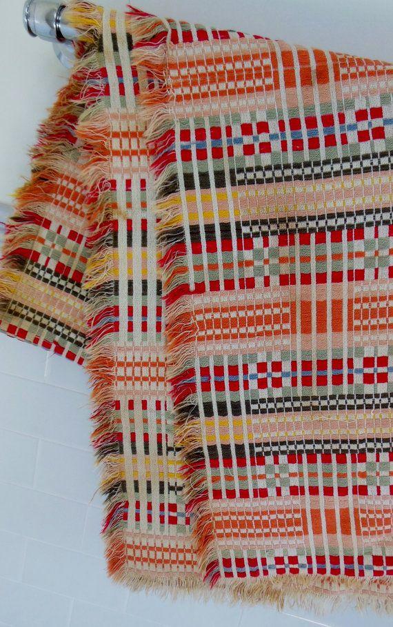 Swedish Woven Textile Throw