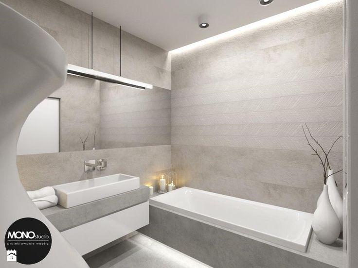 Łazienka styl Minimalistyczny - zdjęcie od MONOstudio - Łazienka - Styl Minimalistyczny - MONOstudio