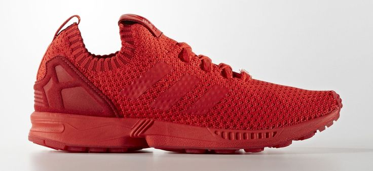 ZX Flux Shoes Primeknit | Red/Red/Red | 129,95 €