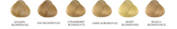 "16 ""Bleach Blonde (# 613) 7er Clip In Synthetic Hair Extensions, # 7er #Bleach # Blonde613 #Cl ..."