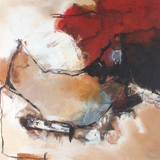 obraz Freya - Malerifabrikken - Blush 2