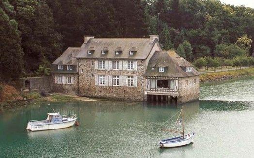 Moulin Neuf à Pleurtuit sur la Côte d'Emeraude en Ille-et-Vilaine en Bretagne