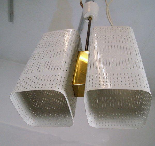 Stunning Deckenlampe H ngelampe im Stil von Stilnovo er er VERKAUFT nach Italien