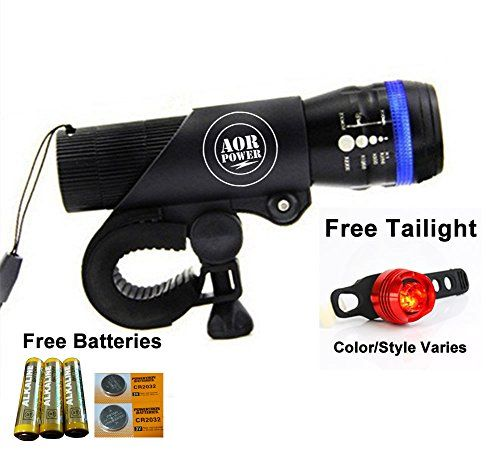 AOR Power Bright LED Bicycle Lights- Tools-free Installation in Seconds - The Best Headlight Compatible With: Mountain & Kids & Street Bicycles (Black with Blue Band) AOR POWER http://www.amazon.com/dp/B017FLMPHC/ref=cm_sw_r_pi_dp_RmZAwb1KW1ZRG