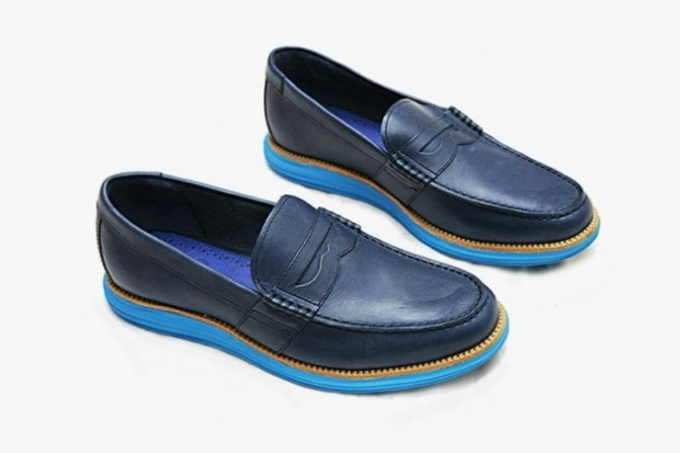 Cole Haan recently debuted their latest pair of shoes to receive the  colorful Lunar treatment, the Cole Haan Lunar Penny Loafer.
