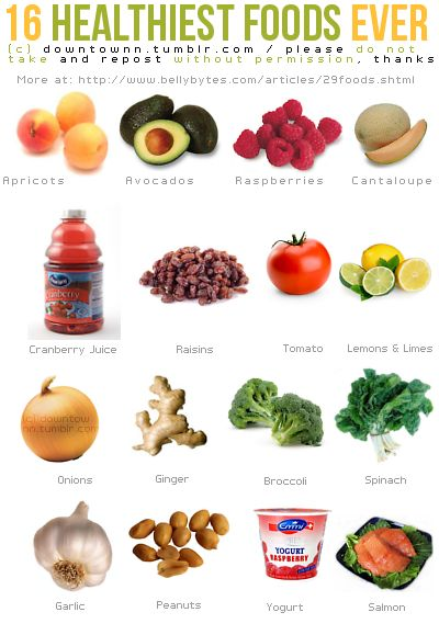 healthiest foods: 16 Healthiest, Health Food, Recipe, Healthiest Foods, Diet, Healthyfood, Grocery List, Healthy Eating, Healthy Foods