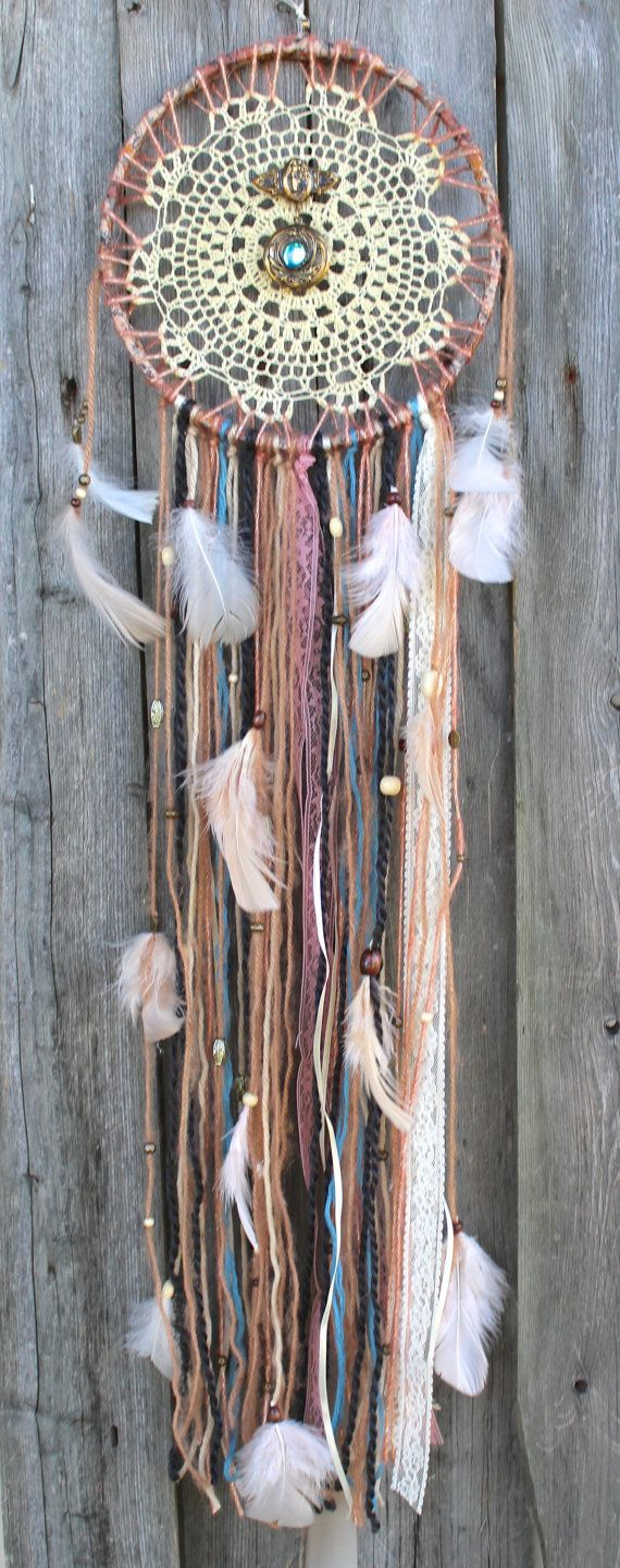❁~Atrapa Sueños ~❤ Dream Catcher Vintage by VagaBoundPeople,