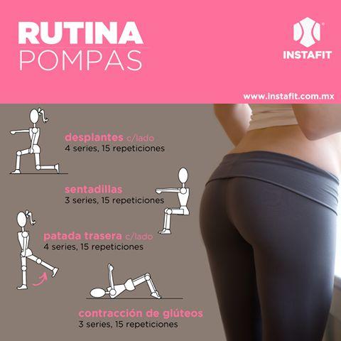 #rutina #pompas