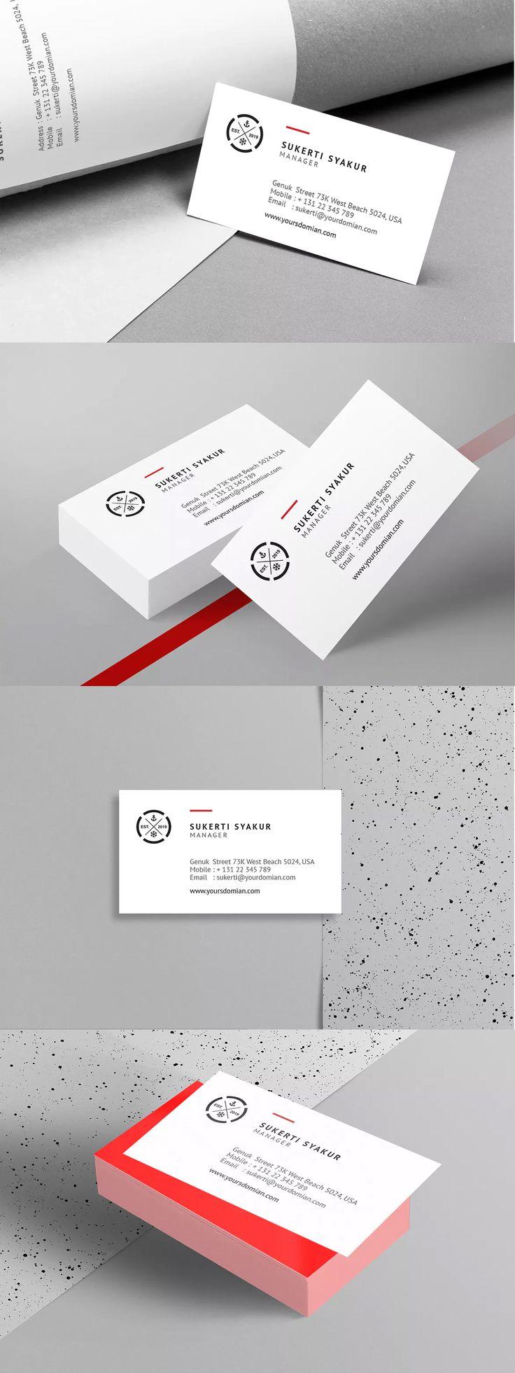 Mejores 226 imágenes de Business Card Templates en Pinterest ...