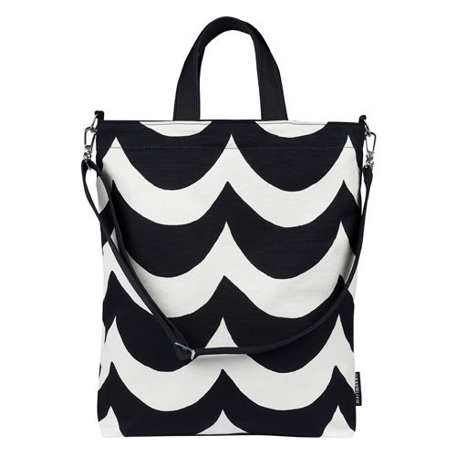 Marimekko Sara Black/White Shoulder Bag - Marimekko Bags & Cases Sale