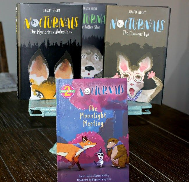 Great Gift Idea! The Nocturnals Book Series for Tw…