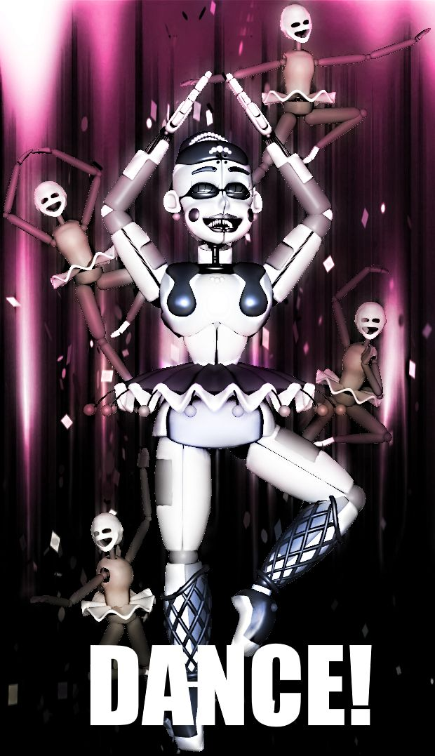 [SFM] Ballora Poster by NightmareEramthgin on DeviantArt