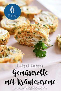 Gemüserolle mit Kräutercreme (Weight Watchers)