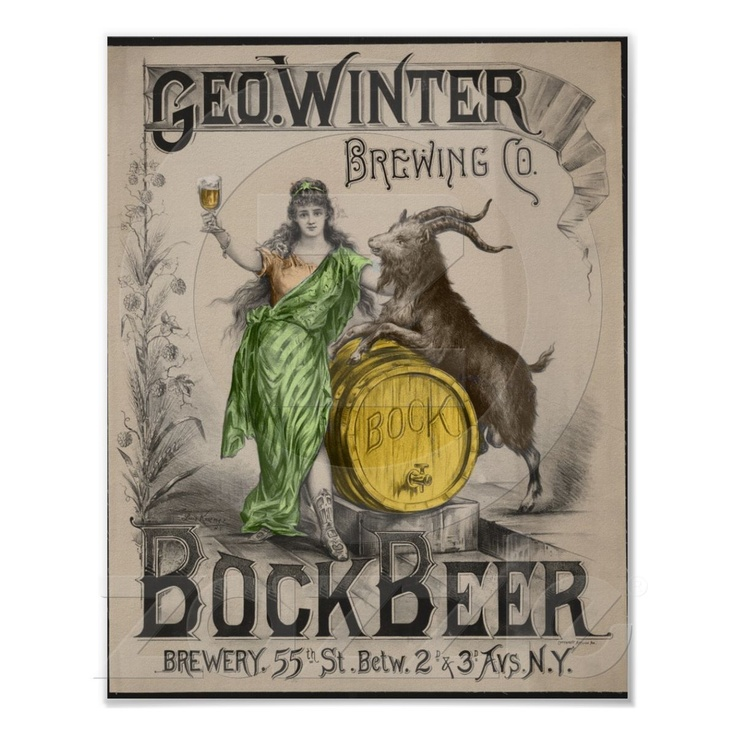 Beer with a goat?
