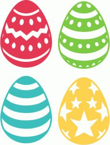 Silhouette Design Store - View Design #77403: assorted easter eggs