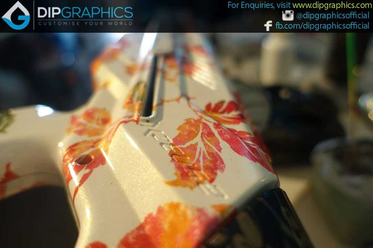 Hydro-Dipped-Zeus-2-Nerf-Blaster-in-Floral-Pattern---5