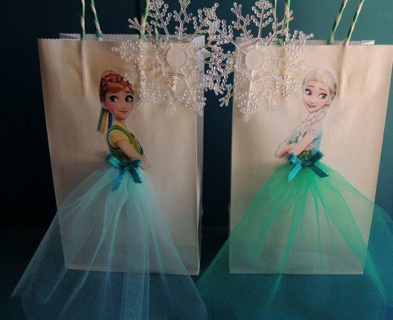 10 Pieces Frozen Fever Elsa Anna Paper Tutu von rizastouchofflair Mehr