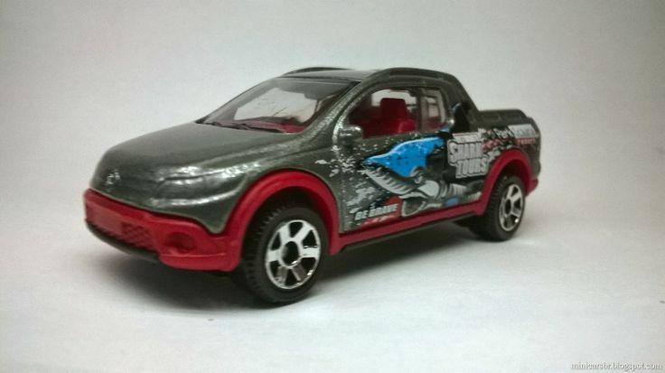 Minicarsbr: Volkswagen Saveiro Cross 2011 - Matchbox 1:64