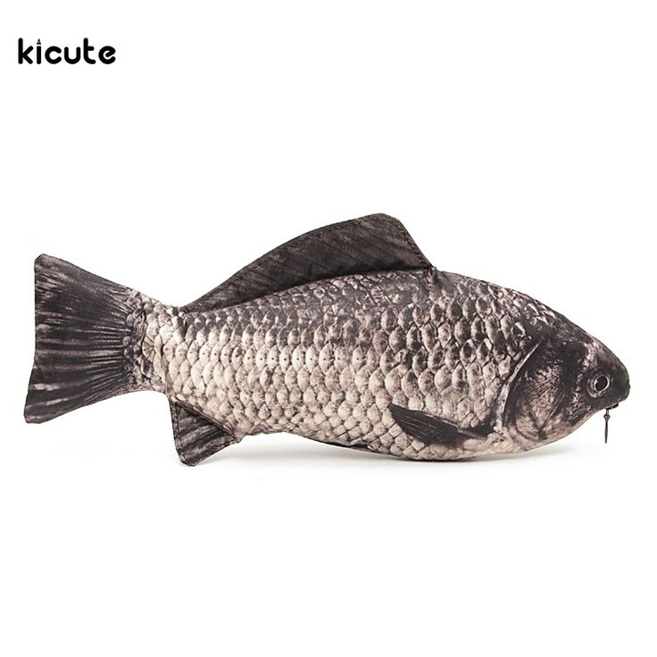 Carp Fish Pencil Case Bag