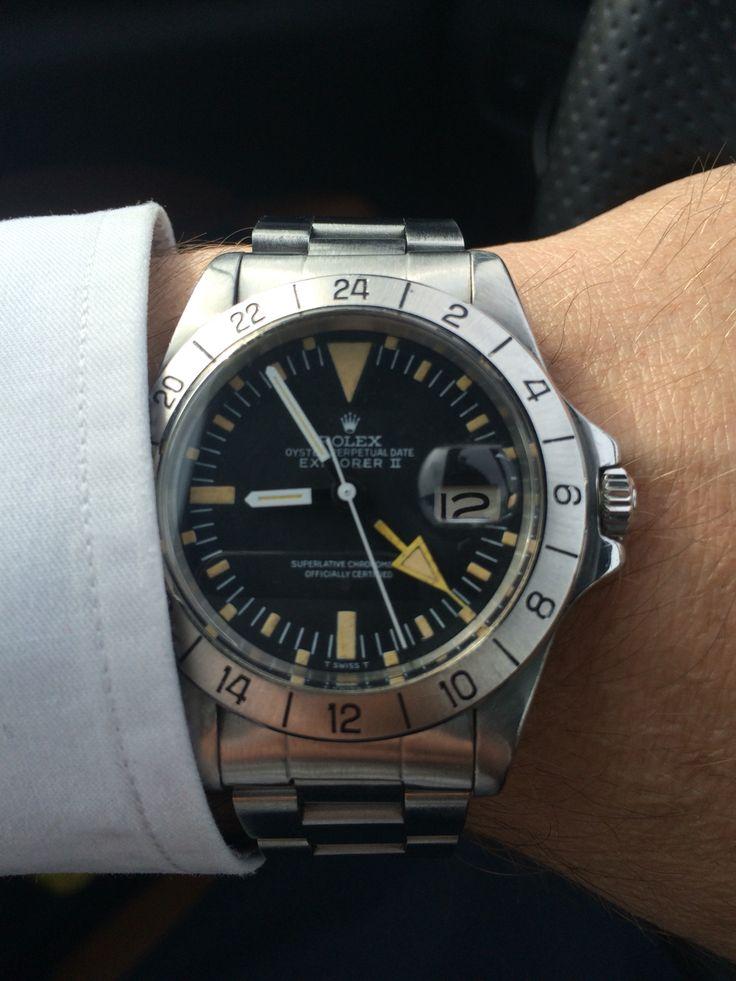Rolex 1655 straight hand