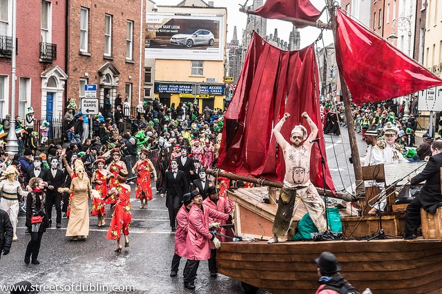 St. Patrick's Day Parade (2013) In Dublin Was Excellent But The Weather And The Turnout Was Disappointing by infomatique, via Flickr