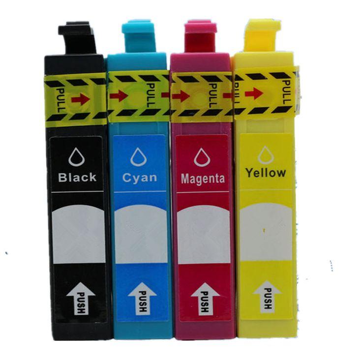 1Set T1711 E-1711 T1714 Inkjet Ink Cartridges For Epson XP 33 103 203 207 303 306 403 406 313 413 XP33 XP103 XP203 XP207 Printer #Affiliate