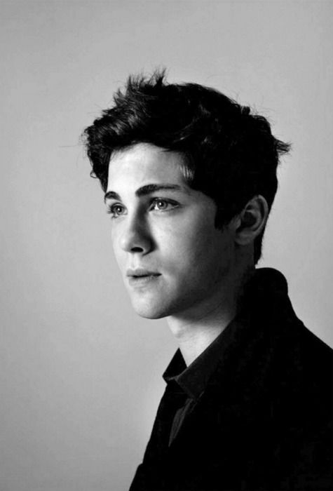 Could we please just take a moment to acknowledge how beautiful Logan Lerman is? Please and thank you.