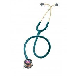 Littmann Classic II Pediatric Stethoscope: Rainbow Finish Caribbean Blue 2153  - £87.99