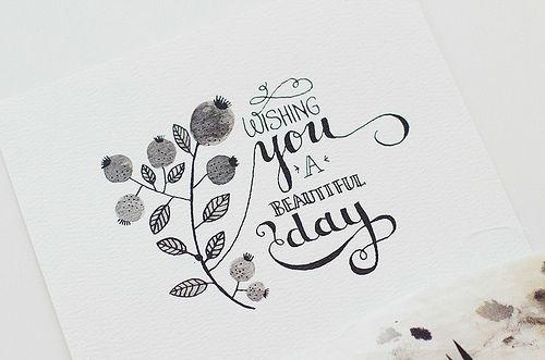 Ink doodling + lettering