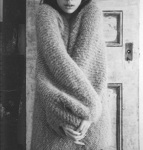 I will find this fluffy sweater thing.... And I will wear it. A lot.
