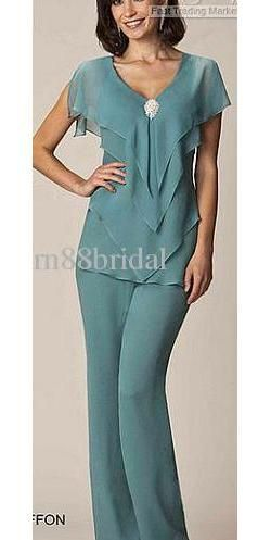 Cheap Mother's Clothes - Discount Tiered Mother of the Bride Pant Suits Online with $125.66/Piece | DHgate