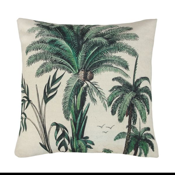 Get Tropical With Our Stunning Printed Scatter Cushions. Featuring A Palm  Tree Print One Side