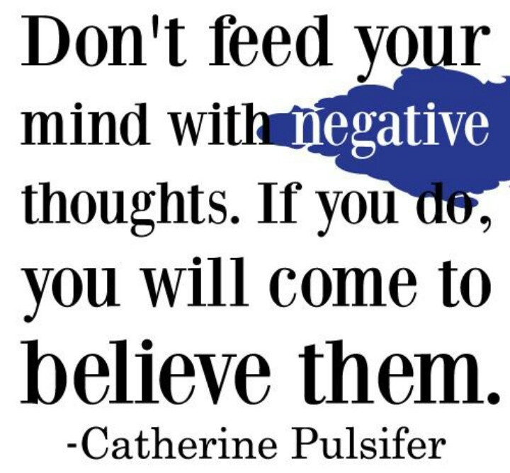 68 Best Images About Battle Negative Thoughts On Pinterest Dont Let, P..