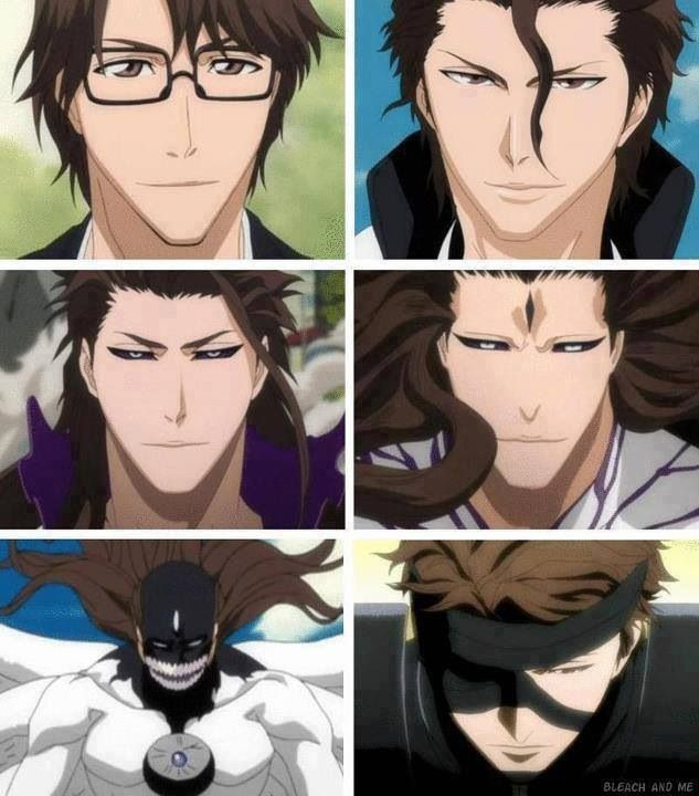 The evolution of Aizen Sousuke. ...he's the one I least expected to be the bad guy when the arc started!! Crazy awesome writing Tite Kubo sensei!