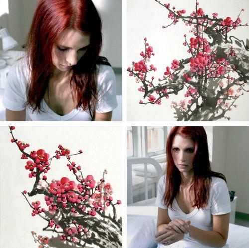 anna milton + flowers #spn
