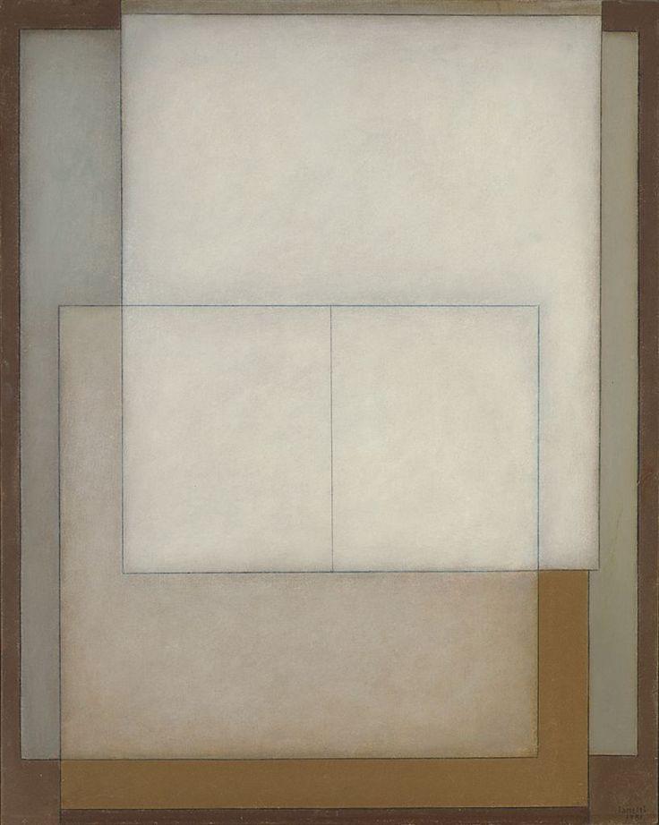 blastedheath:  Arcangelo Ianelli (Brazilian, b. 1922), Untitled, 1981. Oil on canvas, 99 x 80cm.
