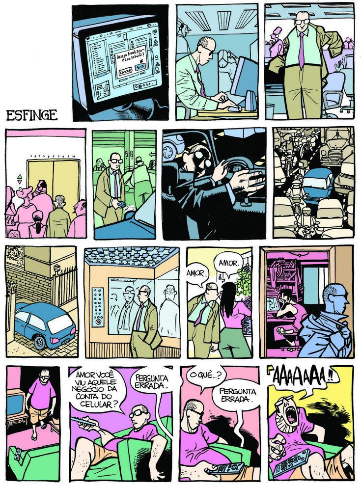 revista piauí - Esfinge