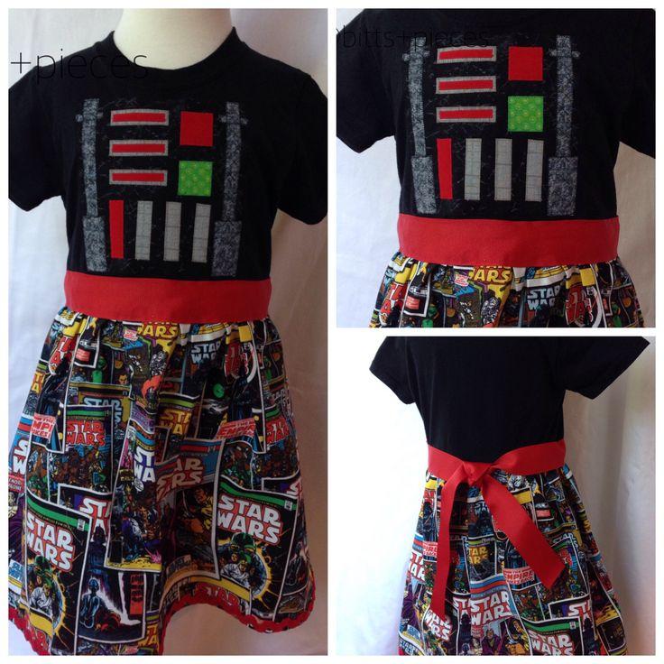 Darth Vader t-shirt dress