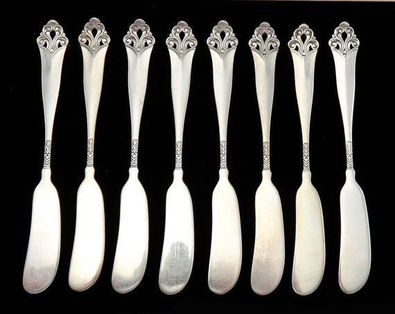No Monogram 6 3//4 Inches Gorham Versailles Sterling Silver Place Fork