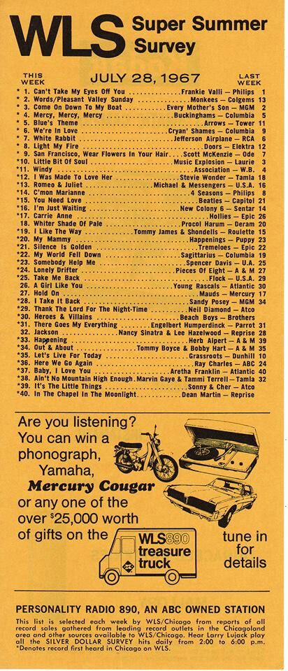 60's hits.