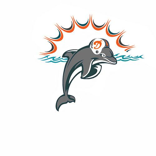 25  best ideas about miami dolphins logo on pinterest
