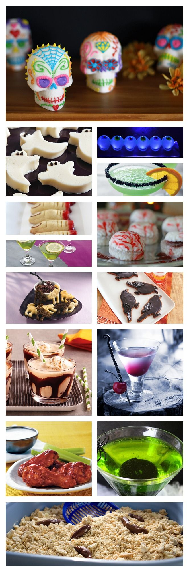 14 killer Halloween party food and drink recipes that will make sure all of your guests have a frighteningly good time!