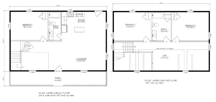25x40 lanier floor plan that would work for grandparents for 25x40 house plan