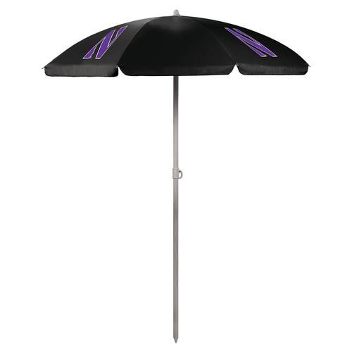 Northwestern University Umbrella Tall Beach Canopy