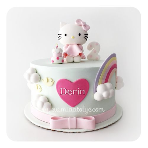 Hello Kitty Cake Design Ideas