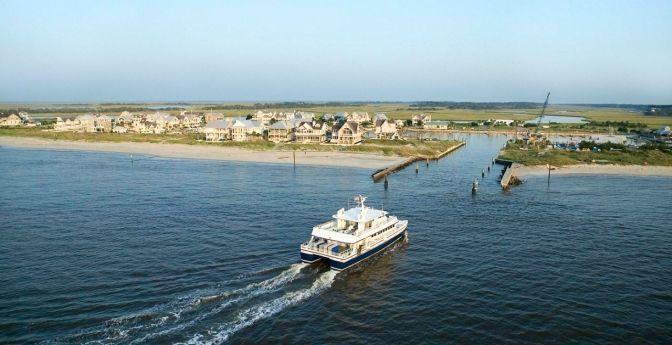 Bald Head Island Ferry   Bald Head Island Ferry, North Carolina
