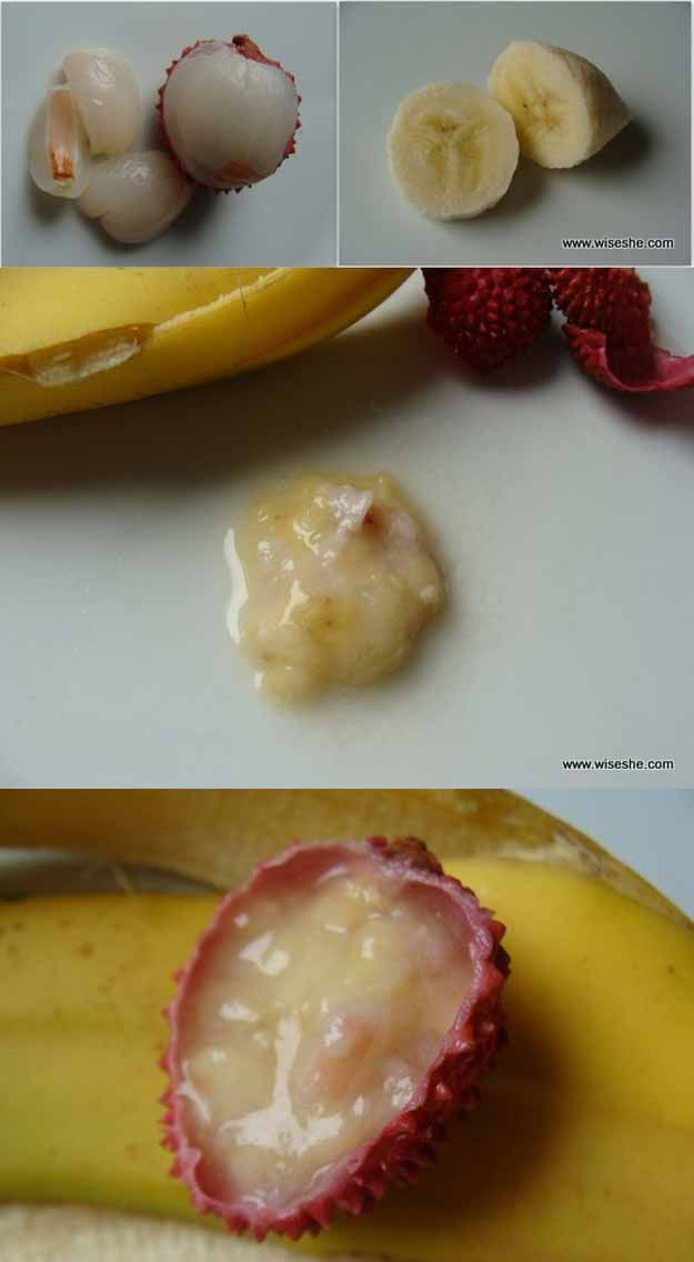 Best Beauty Tips For Teens - DIY – Banana & Lychee Refreshing Face Mask - The Best Products And DIY Make Up Ideas For Losing Weight And Using Eye Makeup For Looking Cute When You Go Back To School. Makeup Ideas Beauty Tips Every Teen Should Know. Beauty Tips For A Faster Morning Routine And Homemade DIY Beauty Tips And Tricks For Teenage Girls. Some Beauty Tips For Face And Glowing Skin And Simple Beauty Tips To Fight Acne And Prevent Breakouts And Blackheads. Get Rid Of Pimples And Acne…