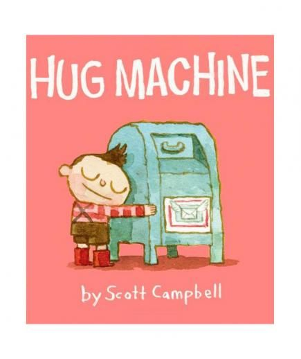 Hug Machine, by Scott Campbell | Fond of Goodnight Moon but looking to mix things up a bit? Real Simple asked 8 beloved children's book authors which page-turners deserve a place in the read-it-again-Mommy stack.